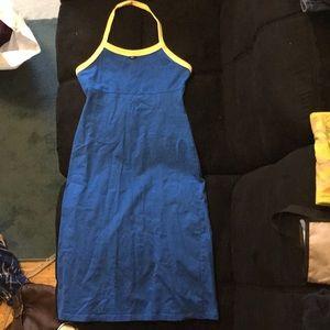 Blue tommy dress